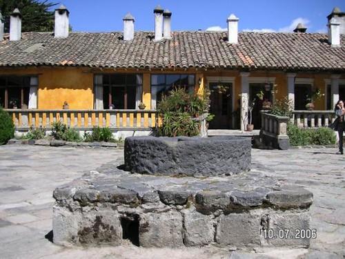 Ecuador Hacienda Building