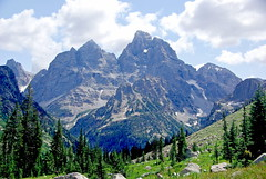 Peaks from Cascade Canyon - Grand Teton National Park (Al_HikesAZ) Tags: park mountains nationalpark hiking quote grand paisaje canyon hike explore national backpacking backcountry wyoming grandtetons peaks teton tetons montaa cascade grandteton wy cascadecanyon gtnp lakesolitude alhikesaz tetons2008