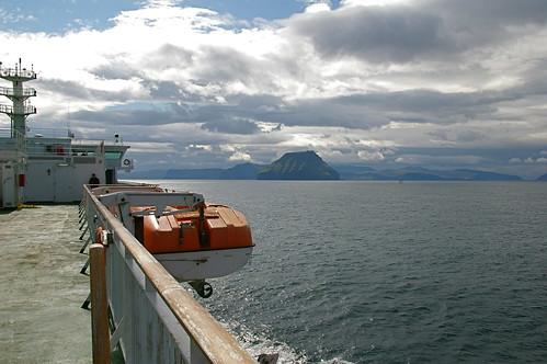 Faroe Islands - on the ferry to SUÐUROY