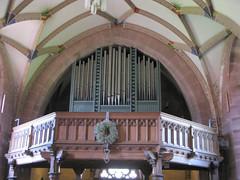 organ Marienkapelle Hirsau Abbey (Marlis1) Tags: abbey germany organ monastery benedictine blackforest hirsau marienkapelle