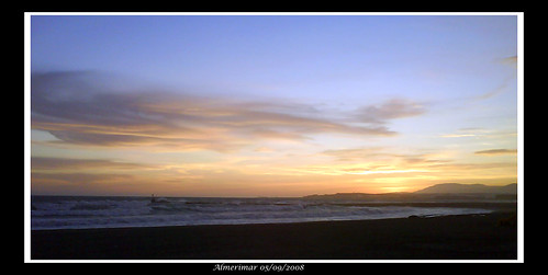 Puesta de sol 05/09/2008