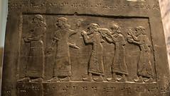assyrian carving (The Black Azar) Tags: england london britishmuseum cuneiform