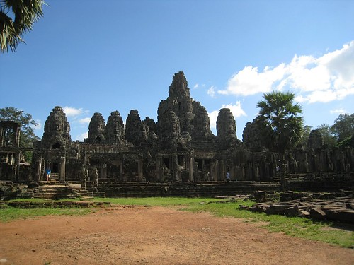 Bayon temple at Angkor