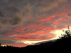 red clouds (Marlis1) Tags: sunset spain searchthebest 365 elsports weatherphotography marlis1 extremesky