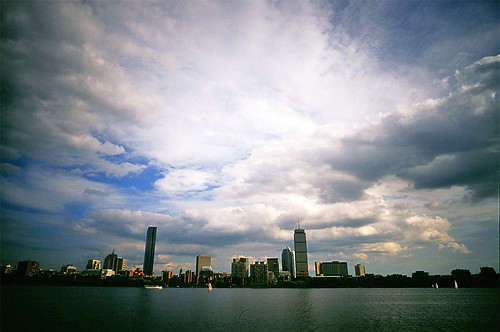 Boston downtown over Charles River (by masamonster)