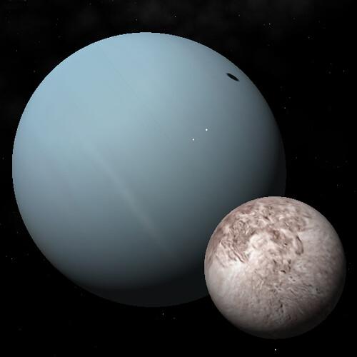 Urano, miranda