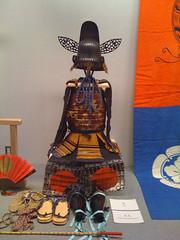 Samurai armour (ORAZ Studio) Tags: japan kyoto gion kansai lifestream higashiyama samuraiarmour ofriceandzen sweetcron kyotoartgallery