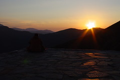 Kozia stena Hut - Sunset (proxima2) Tags: sunset mountain mountains hiking hut bulgaria stena balkan   kozia   proxima2