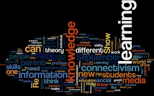 Connectivism Wordle