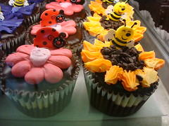 Decorated Black bottom Cupcakes, Simma's Bakery, Milwaukee