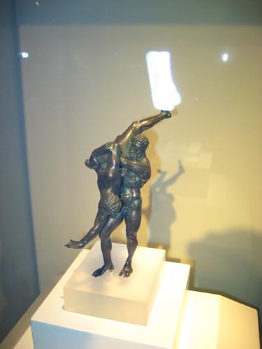 古希腊青铜像