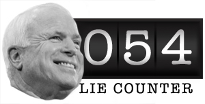 McCain Lie Counter