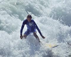 fox foam blue (ScottS101) Tags: ocean california boy orange man beach wet muscles cali mar surf huntington tan wave playa spuma teen foam surfers chico athlete oc olas surfistas hombre hb ola homme chavo surfbaord