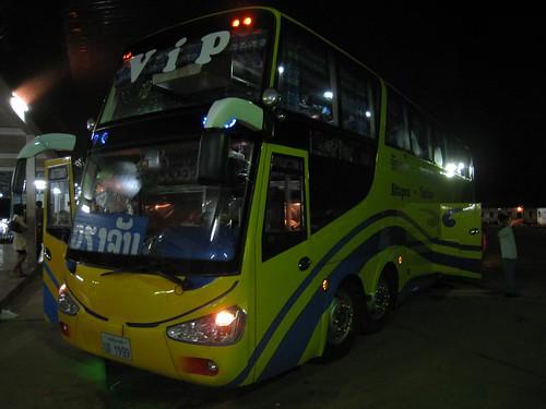 VIP bus to Vientiane
