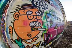 You are all dummies! (olikristinn) Tags: street streetart art lens graffiti iceland dummies all you cigarette wideangle reykjavik smoking fisheye mc smoker 8mm reykjavík peleng youarealldummies yourealldummies