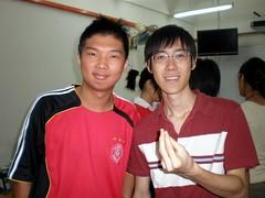 Li Hong & me