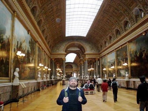 Painting gallery in Versailles