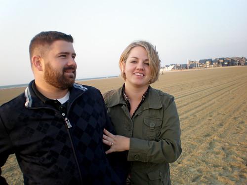 Me and Finn at the Beach