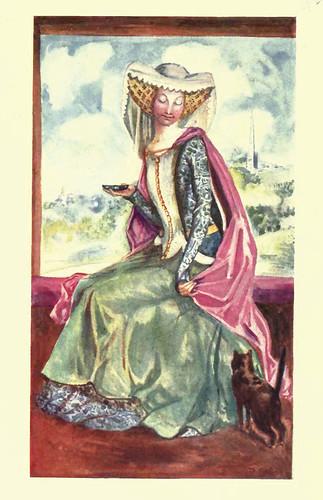 06- Vestimenta mujer en la epoca de Enrique V (1413-1422)