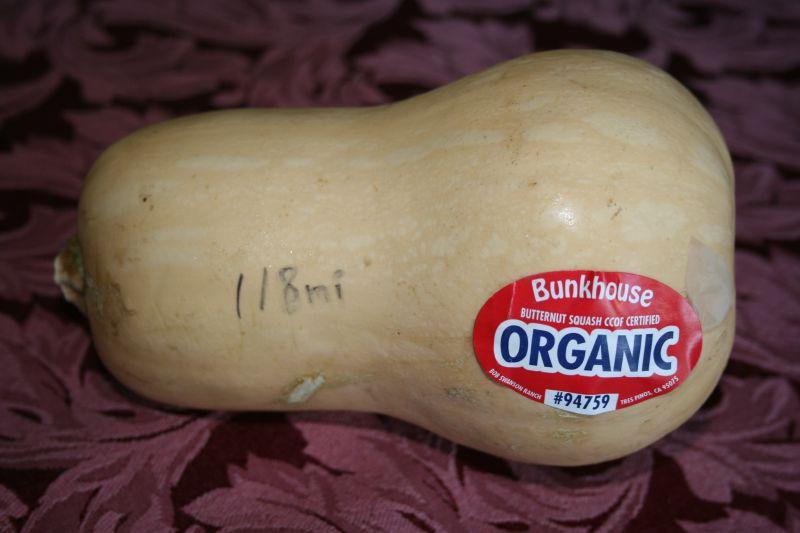 Butternut Squash, Organic