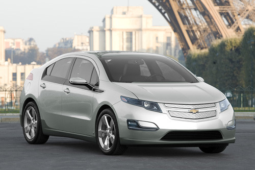 European Premiere: Chevrolet Volt Production Version: A New Breed of Electric Vehicle,car, sport car