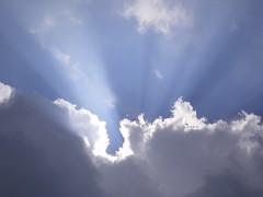 Cloudscapes #5 (tt64jp) Tags: blue light sky cloud sun white sol nature weather japan soleil solar ray shine cloudy gray wolke  nuage     nube   crepuscularrays gunma    kitakaruizawa  tsumagoi
