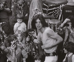 Mick Jagger (terr-bo) Tags: music 1969 rock rollingstones the60s mickjagger thesixties mariannefaithfull the1960s hydeparkconcert
