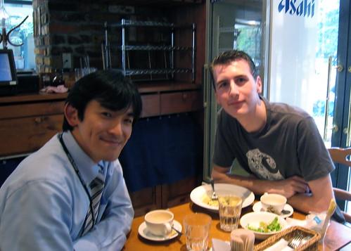 Kazuhito Kidachi et moi