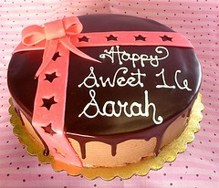 Birthday Cake Sweet 16 (chocolatebakery.com) Tags: birthday cake 16 deliver sweetsixteen