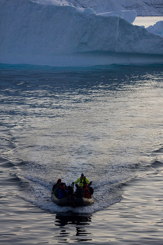 Scientists return from studying how climate change has affected the icebergs in Uummannaq