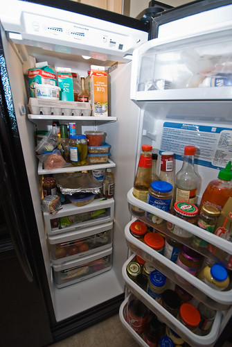 my fridge is full
