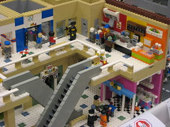 Zombie Apocafest 2008 - Dan Parker's food court (Dunechaser) Tags: lego zombie events valve displays undead zombies tbb brickcon brickarms thebrothersbrick brothersbrickcom brickcon2008 brickcon08 apocafest