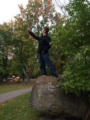 Jamie conquers Ontario (ElizabethKlueck) Tags: ontario saultstemarie jamieklueck