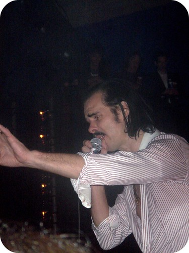 Nick Cave and the Bad Seeds by flickr user jennder (Me: I was at this show.)