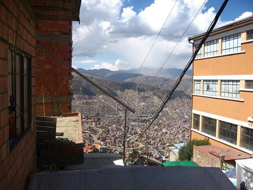 La Paz from El Alto