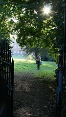 Clandon Park... (mag2003...) Tags: shadow sunlight house garden italian gate iron national shade trust footpath wrought clandon