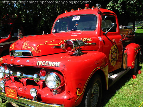1952 Fire Truck from Montreal Canada