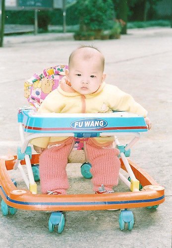 Laina in walker