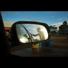 3. vulnerability ( Tatiana Cardeal) Tags: shadow brazil espelho brasil digital highway gasstation tatianacardeal humanrights 2008 matogrosso retrovisor socialdocumentary posto servicestation brsil amazonia amazonie br163 environmentalimpact   socialimpact
