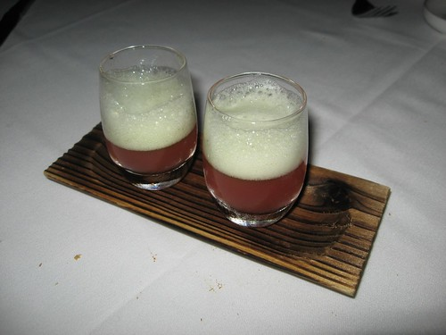 Intermezzo-Watermelon Shooter with Cucumber Foam