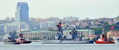 "Processional, Turkish Navy museum ship TCG ""Gayret"", ex-US Navy USS Eversole, Gearing-class destroyer built in 1946, returning from Istanbul, Turkey, 19 October 2008 (Ivan S. Abrams) Tags: docks turkey boats support ships istanbul taxis getty tugs straits ports blacksea ferries harbors bosphorus cruisers roro nato tugboats gettyimages vessels freighters tankers anatolia cruiseships smrgsbord liners warships ferryboats countermeasure workboats fireboats policeboats seaofmarmara ottomanempire bulker dardenelles boatswater boatsocean passengerships chokepoints onlythebestare museumships bulkers ivansabrams trainplanepro feribots ivanabrams servicecraft gettyimagesandtheflickrcollection copyrightivansabramsallrightsreservedunauthorizeduseofthisimageisprohibited tucson3985gmailcom trainferries marmarisproject destroyersfrigatesgunboatspatrol craftmissile boatssubmarinescombat shipsresearch vesselssteamshipssteam shipssetam linersminesweepersmine craftnaval vesselsnato naviesfishing boatsfishermenspeedboatspower copyrightivansafyanabrams2009allrightsreservedunauthorizeduseprohibitedbylawpropertyofivansafyanabrams unauthorizeduseconstitutestheft thisphotographwasmadebyivansafyanabramswhoretainsallrightstheretoc2009ivansafyanabrams abramsandmcdanielinternationallawandeconomicdiplomacy ivansabramsarizonaattorney ivansabramsbauniversityofpittsburghjduniversityofpittsburghllmuniversityofarizonainternationallawyer"