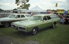 1972 Plymouth Fury Custom Suburban (splattergraphics) Tags: wagon suburban plymouth mopar amc ambassador 1972 carlisle 1973 fury carshow stationwagon cbody hideawayheadlights customsuburban carlisleallchryslernationals
