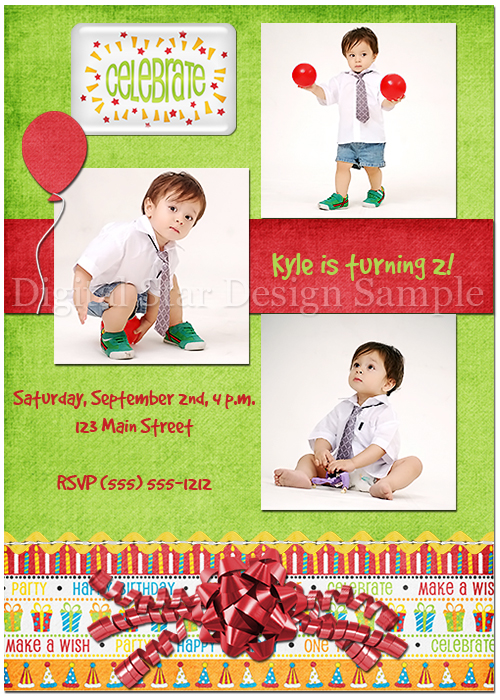 Birthday Card Sample 1, 5x7 (web size)