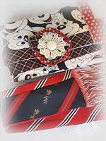 SECRET SANTA</p>Upcycle Necktie Scarves