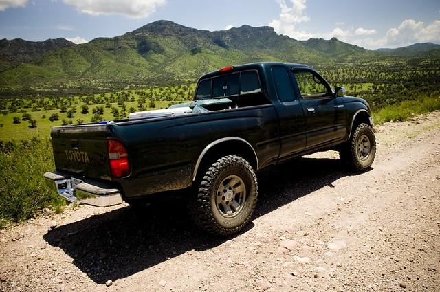 arizona terrain wheel drive mud 4x4 4 dirt toyota tacoma roads bfg wesnoonan