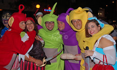 Telly Tubbies and pirate women