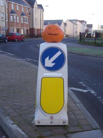 pumpkinbollard