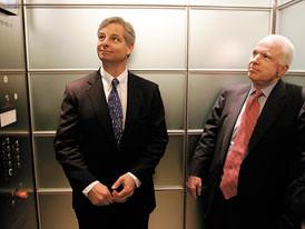 Rick Davis w/ John McCain