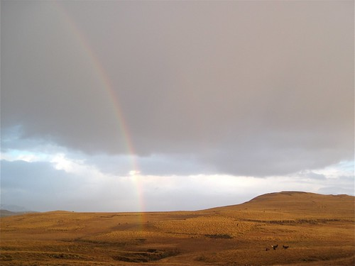 Rainbow over Skinnhufa