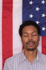 (malik ml williams) Tags: selfportrait history flag patriotic malik obama 2008election naturalbeautyportraiture